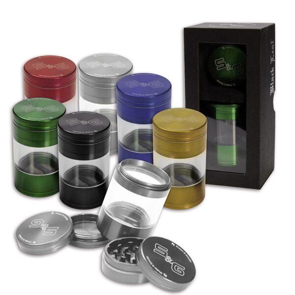 Mlinček Black Leaf S&G Shaker 5-delni