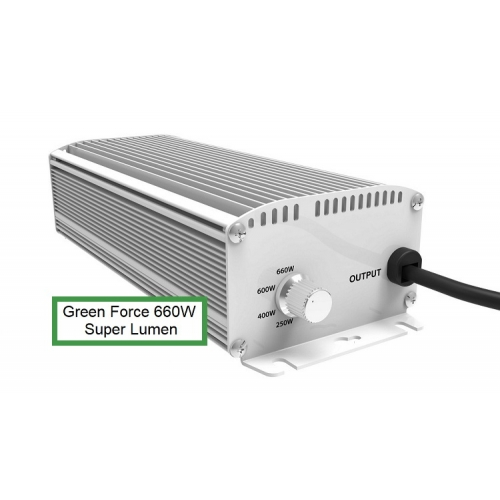 Green Force 250W / 400W / 600 / 660W super lumen