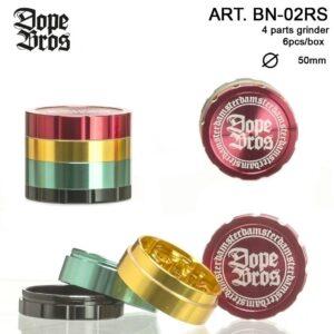 Mlinček Dope Bros Rasta 4-delni 50mm
