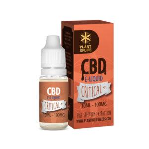 E-liquid Critical+ CBD 10ML