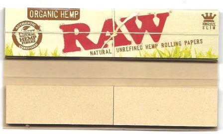 Raw organic connoisseur ks slim