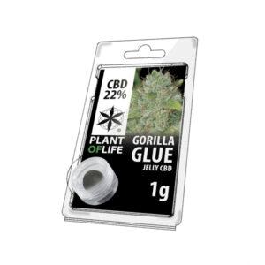 CBD jelly 22% gorilla glue 1g