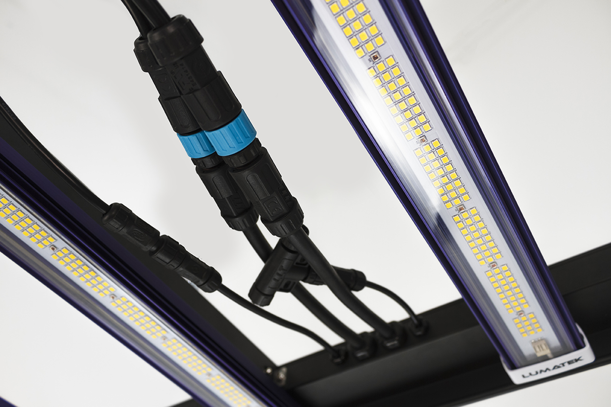 GrowBox 600w Lumatek Zeus Pro LED